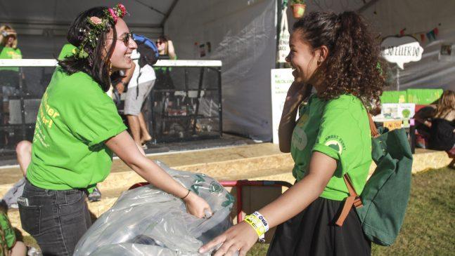 recycling at OYA