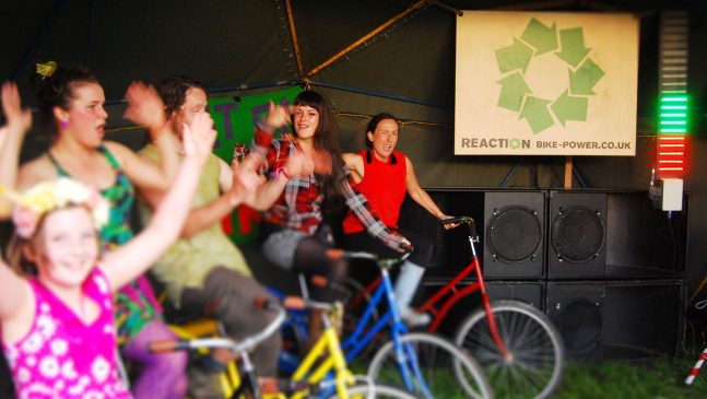 Bike-powered: interactive and innovative energy provider