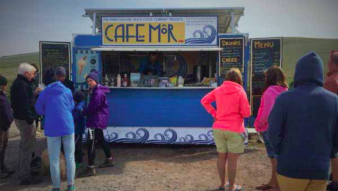 A revolutionary off-grid catering concession